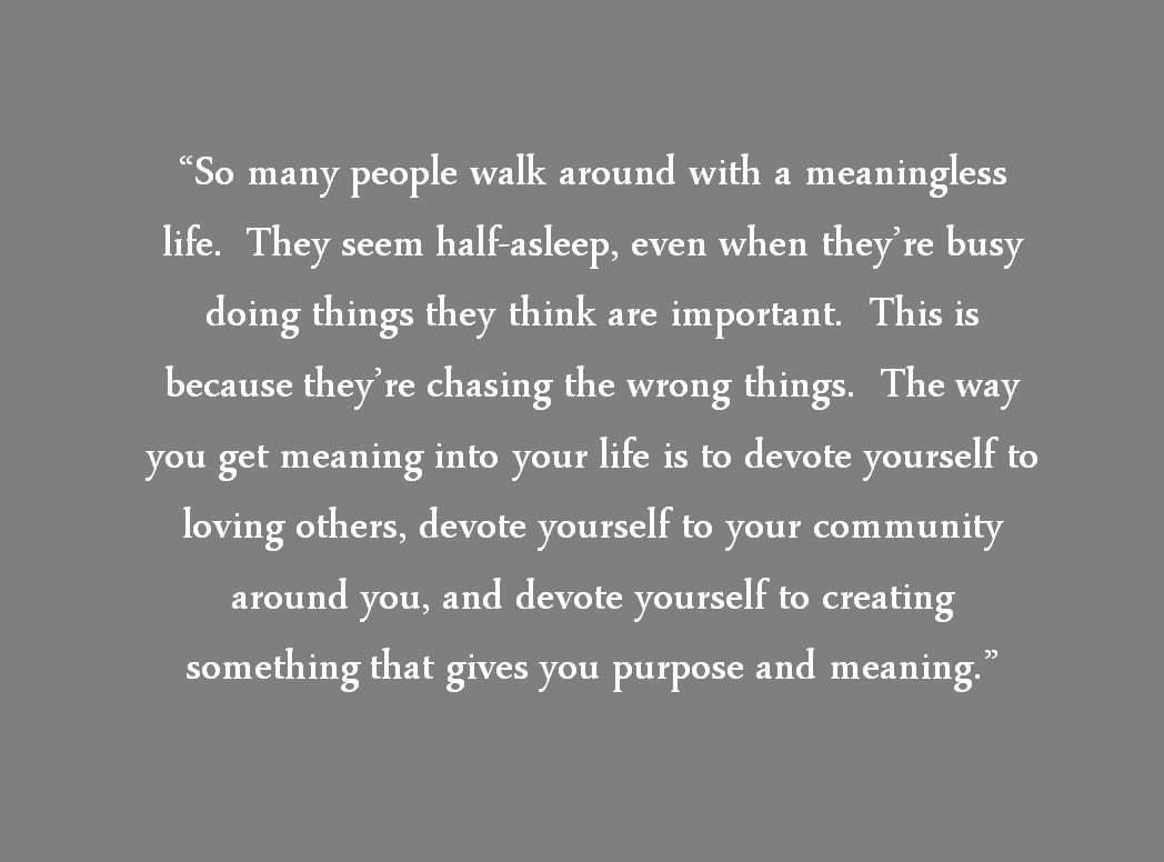 tuesdays with morrie love