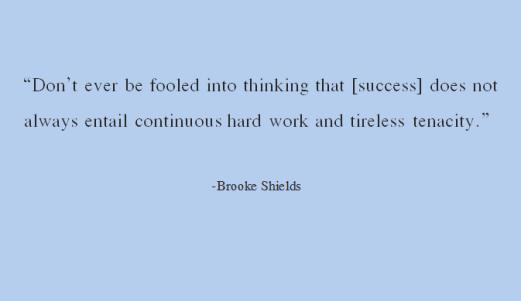 success brooke shields