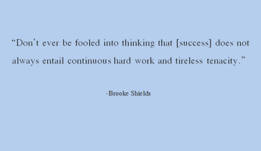 success brooke shields