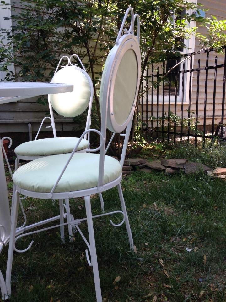Outdoor Furniture Redo