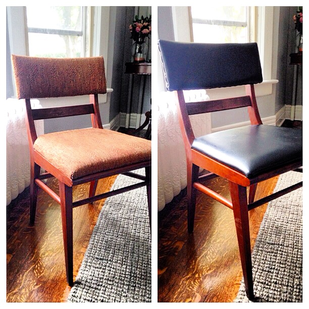 Reupholstering Dining Chairs