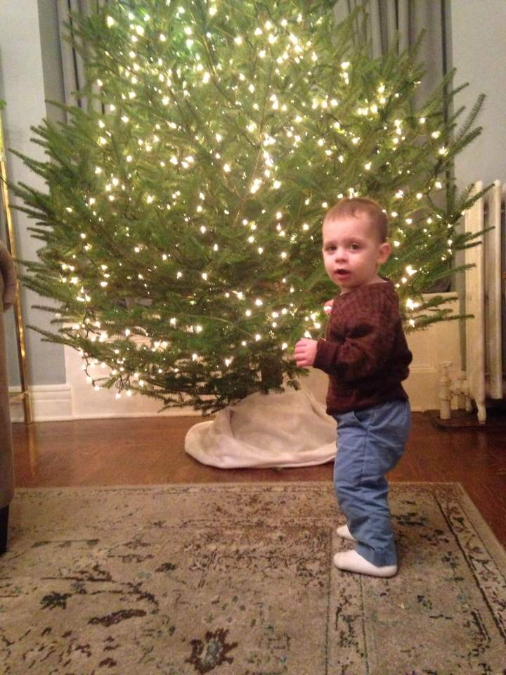 Christmas with aOne-Year-Old