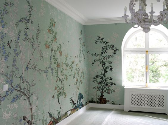 Inspired by: Chinoiserie Wallpaper