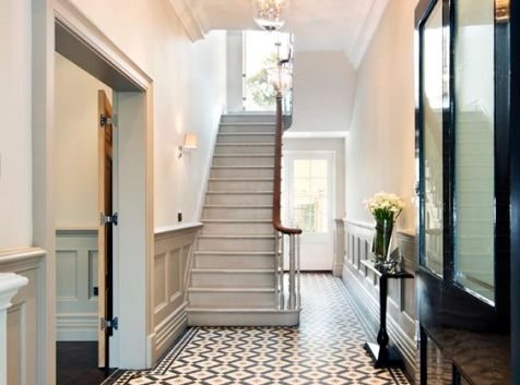 graypaintedstairs