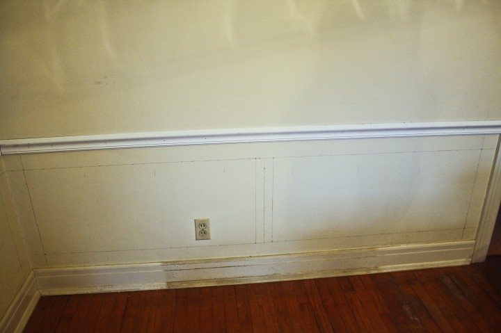 Picture Frame Wainscoting DIY – Park and Division