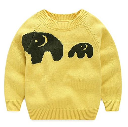 mudkingdomelephantsweater