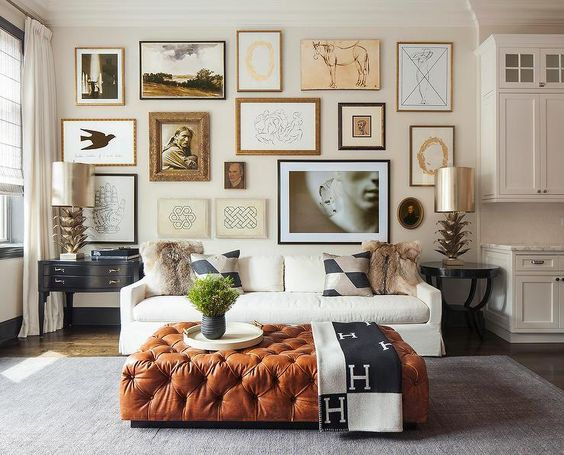 Inspired by: Neutral Gallery Walls