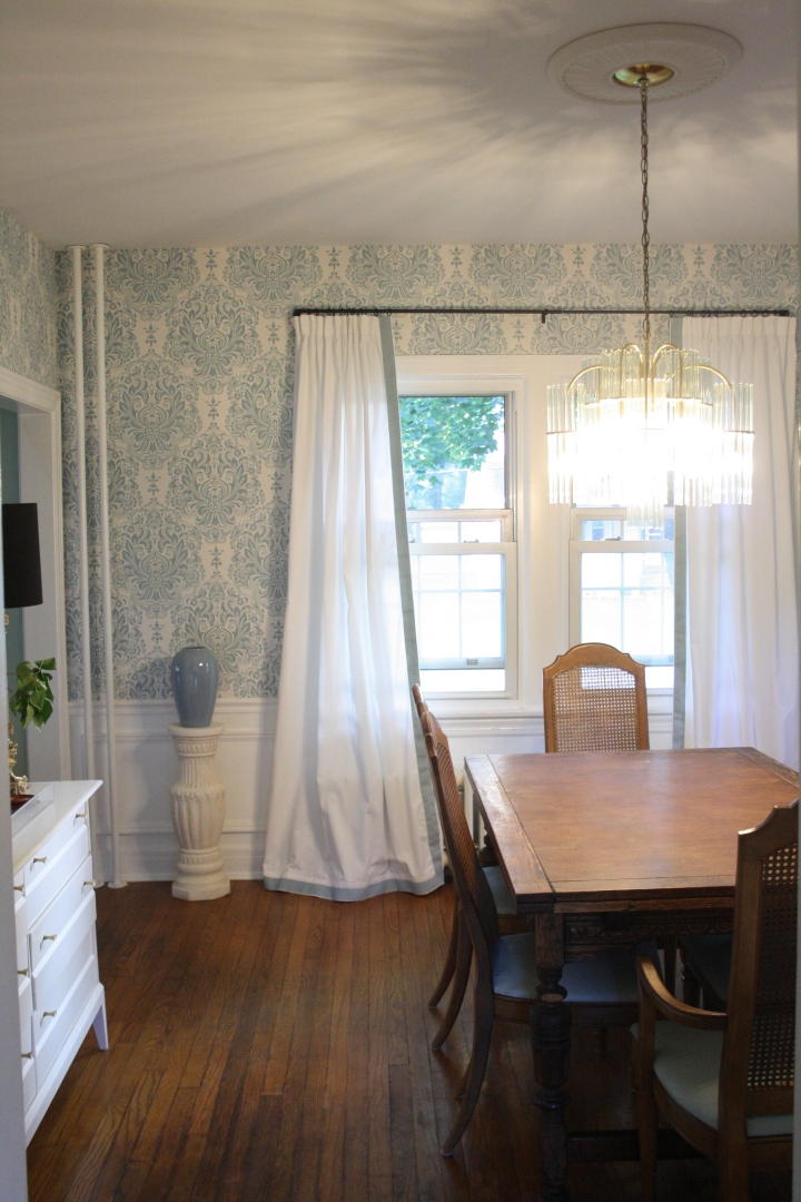 How to make basic curtains look custom