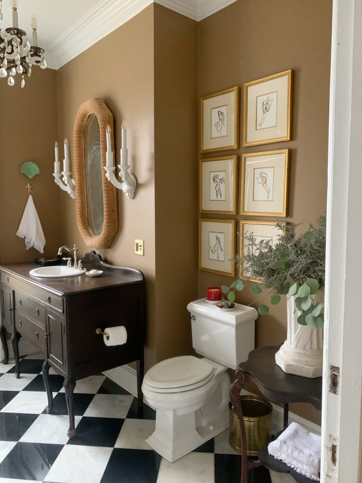 Upstairs Bathroom: Before and After Reveal